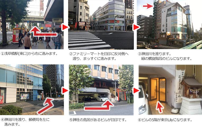 東京リリィ案内図